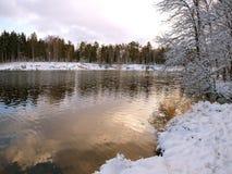 Le fleuve Photos libres de droits