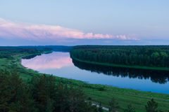 Le fleuve Image stock