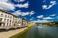 Le fleuve Arno à Florence, même Photographie stock