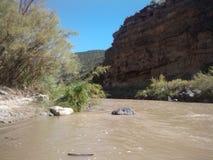Le fleuve Colorado Photos stock
