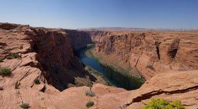 Le fleuve Colorado en Glen Canyon (Arizona, Etats-Unis) Photos libres de droits
