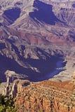 Le fleuve Colorado en parc national de canyon grand Image stock
