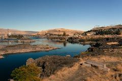 Le fleuve Columbia et Dallas photo stock