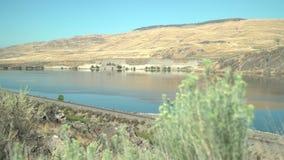 Le fleuve Columbia, Washington State 4K UHD banque de vidéos