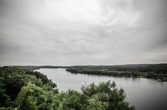Le fleuve Connecticut images libres de droits