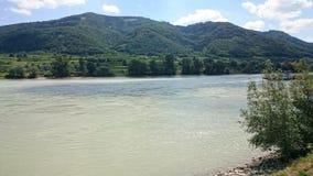 Le fleuve de Danube Images stock