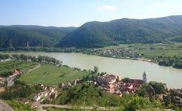 Le fleuve de Danube Photographie stock