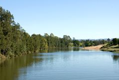 Le fleuve de Hawkesbury Photo libre de droits