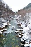 Le fleuve de montagne Photos stock
