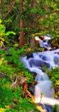 Le fleuve de montagne Images libres de droits