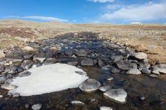 Le fleuve de montagne Photo libre de droits