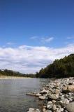 Le fleuve de montagne Images stock