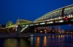 Le fleuve de Moskva Image stock