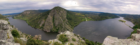 Le fleuve de Tagus, Portas font le dão de ³ de Rà Photo libre de droits