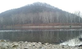 Le fleuve Delaware photos libres de droits