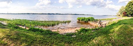 Le fleuve Delaware Photos stock