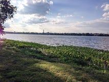 Le fleuve Delaware Photographie stock libre de droits