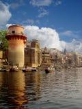Le fleuve Ganga Images libres de droits