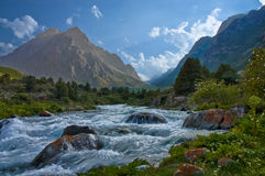 Le fleuve magique Images libres de droits