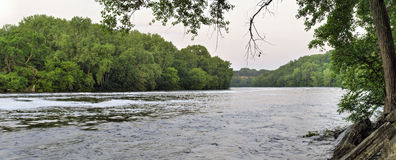 Le fleuve Mississippi Photo stock