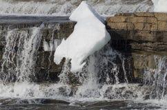 Le fleuve Mississippi, Almonte, Ontario, Canada photographie stock