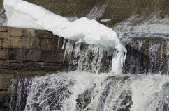 Le fleuve Mississippi, Almonte, Ontario, Canada images stock