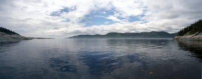 Le fleuve Saint Laurent image libre de droits