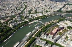 Le fleuve Seine - Paris Photographie stock libre de droits