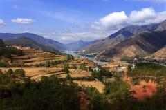 Le fleuve Yangtze Photo libre de droits