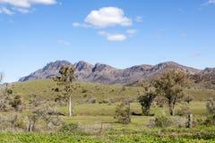 Le Flinders s'étend Australie Images stock