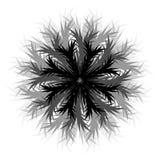 Le flocon de neige abstrait. Image libre de droits