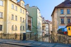 Le flot du Davil, île de Kampa, Prague photographie stock libre de droits