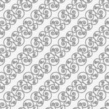 Le flourish en spirale diagonal perforé forme petit Photos stock