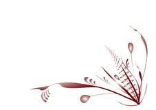 Le Flourish plante le rouge Image libre de droits