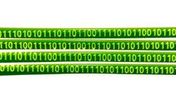 Le flux de données illustration stock