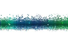 Le flux de données abstrait Images libres de droits