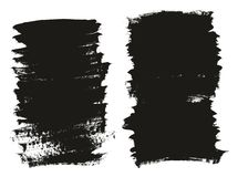Le fond élevé de vecteur d'abrégé sur détail de fond de pinceau de calligraphie a placé 87 illustration de vecteur