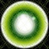 Le fond abstrait a éclaté le noir vert clair Illustration de vecteur Photographie stock