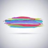 Le fond abstrait avec la peinture éclabousse Photo stock