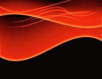 Flammes abstraites du feu de fond Image stock