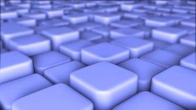 Le fond abstrait 3d des blocs, cubes, la boîte, 3d rendent Images stock