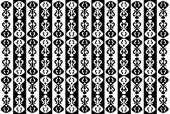 Le fond abstrait monochrome noir et blanc Photographie stock libre de droits