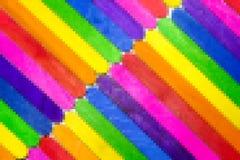 Le fond abstrait pour la conception avec les planches en bois colorées glacent photographie stock