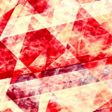 le fond abstrait raye le rouge Conception géométrique d'élément Beau papier peint vibrant Peignez le papier grunge Lignes de mili Photos stock