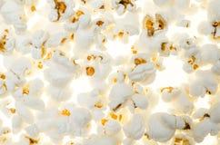 Le fond avec du maïs de bruit sème sans couture comme composition en nourriture peu commune Image libre de droits