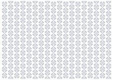 Le fond blanc décoré des rayures verticales de l'ornement fleurit dans bleu-clair illustration stock
