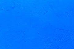 Le fond bleu de texture de mur en béton pour des intérieurs wallpaper la conception de luxe Photo stock