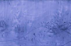 Le fond bleu de texture de mur en béton pour des intérieurs wallpaper la conception de luxe Photographie stock libre de droits