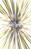 Le fond clair des rayures de couleur diverge du milieu aux bords Image libre de droits