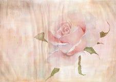 Le fond d'aquarelle du papier âgé, aquarelle a monté illustration de vecteur